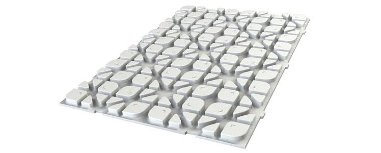 climacomfort tbs systemplatte roth. Black Bedroom Furniture Sets. Home Design Ideas