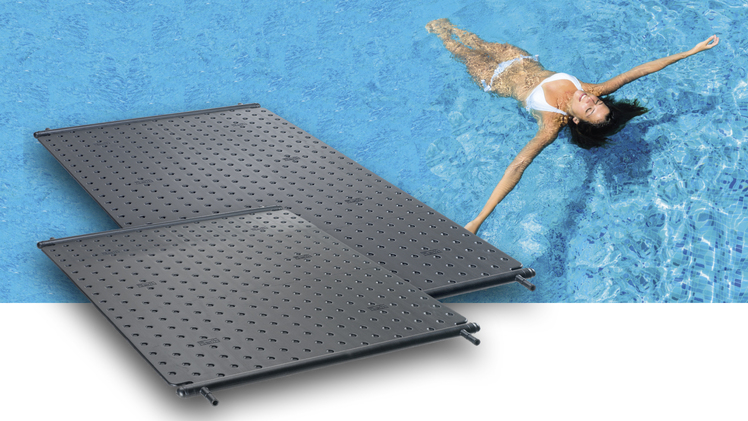 Schwimmbadabsorber Heliopool Roth